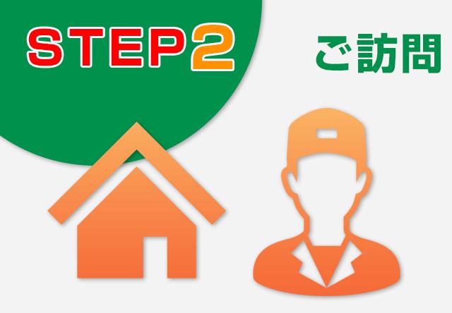 STEP-2・・・ご訪問